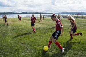 Fältet i Fagervik rymmer elva fotbollsplaner.