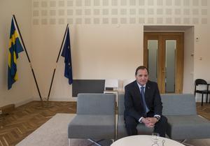 Mittmeida träffade statsminister Stefan Löfven i Rosenbad samtidigt som han gjorde sig redo för partikongressen i Göteborg. Tre timmar senare inträffade terrorattacken