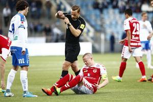 Tobias Erikssons säsong är över.