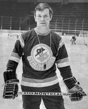 "Ishockeyspelaren Bertil ""Masen"" Karlsson."