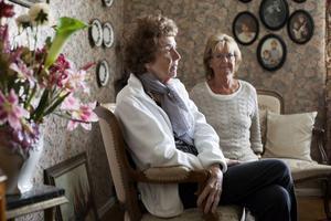 Rut Blomqvist, är 89 år och hennes dotter Inga Blomqvist 70 år är de äldsta av fem generationer.