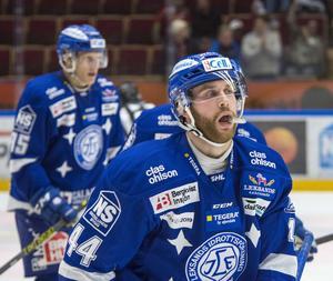 Mattias Guter i Leksandströjan för två säsonger sedan.