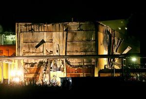Sent på måndagskvällen var branden på Arizona Chemical är under kontroll.
