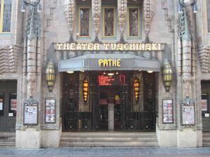 Theater Tuschinski i Amsterdam invigdes 1921.