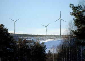 Försvarsmakten säger nej till sex av de totalt 111 vindkraftverk som positionerats ut i projektet Lillmörtsjön.