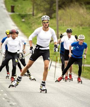Den förre Selångeråkaren Jesper Modin med internationella framgångar i sprint är äldst i utvecklingslandslaget med sina 27 år.