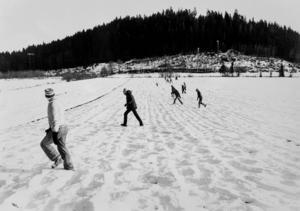 Hundratals personer deltog i sökandet efter Johan Asplund. Skallgångskedjor sökte av stora områden dagarna efter att den 11-årige pojken försvunnit från Bosvedjan.