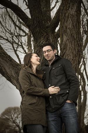 Jeremy och hans fru Jennifer Colliton.