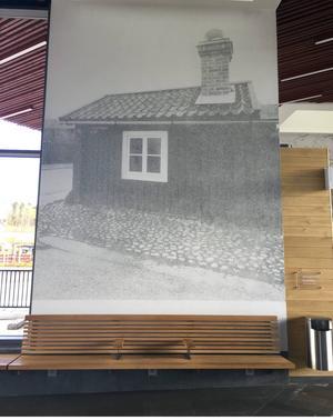 Bult Karl-Eriks stuga i Elsborg i Falun ingår i världsarvet.