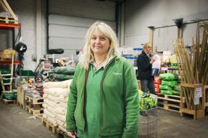 Åsa Hanning är butikschef på Granngården i Sala och komposterar själv hemma.
