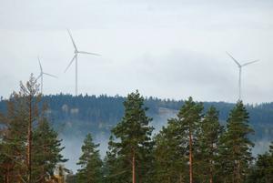 Hedemora kommun, Hedemora Bostäder och Hedemora Energi har investerat i varsin vindsnurra i Garpenberg.