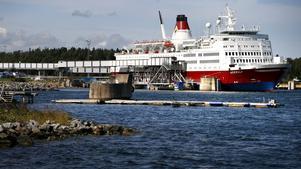 Viking Lines passagerarlinje mellan Kapellskär och Mariehamn på Åland har slagit nytt rekord i juli.