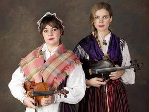 Sara Parkman och Samantha Olanders.
