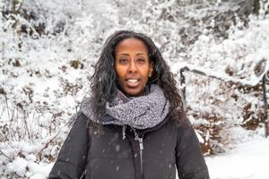 Vi har grubblat så mycket över varför pappa blir behandlad så här, men vi hittar ingen förklaring säger Emy Maru, dotter till hjärtläkaren Fikru Maru som sitter fängslad i Etiopien.
