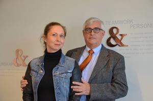Camilla Wikland och Lars Melin företräder Ruvhten Sijte i resningsansökan om Härjedalsdomen.