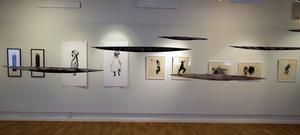 Ulrika Ströms objekten kretsar kring olika platser och rör sig i tid och rum.