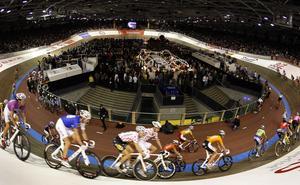 Ett exempel på hur en cykelvelodrom kan se ut. Det här är Cykelvelodromen i Berlin. Foto: Michael Sohn/Scanpix