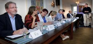 Under valdebatten deltog: Anders Bergsten, Kristdemokraterna, Bodil Ceballos, Miljöpartiet, Ingrid Hammarberg, Folkpartiet, Karin Ånöstam, Centerpartiet, Maria Mörk, Vänsterpartiet, Ingvar Persson, Moderaterna, Marie Centerwall, Socialdemokraterna, Pär Norling, Sverigedemokraterna samt Olle Nilsson Sträng, Bollnäspartiet.