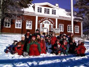 Skålans skola har en starkt samisk profil.