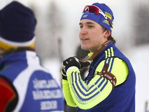 Martin Ponsiluoma, Tullus, blev trea i norska mästerskapens sprint i H20–21.