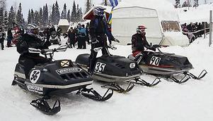 Damklassen, från vänster, Pia Karlsson Fabjan, Annika Karlsson och Anna Stålhandske.