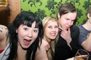Konrad. Elin, Hanna och Mattias