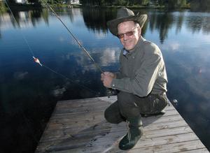 Den främsta retreatplatsen för Jan Wahlman och hans sambo Anita är fritidshuset i Gullberg. Jan kopplar också gärna av med både älgjakt och fiske. En 12-taggare och en åttakilosgädda är de bästa hittills.
