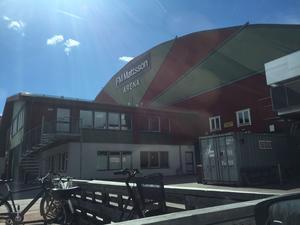 Det är en rad åtgärder som behöver fixas för att göra Smidjegrav Arena till en SHL-klassad arena.