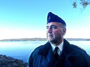 Kommendörkapten Ronald Forsberg är inte förvånad om ubåtsobservationen stämmer.