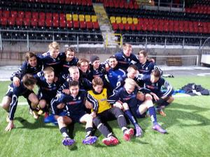Glatt gäng. Örebro läns P95 är klart för final i Cup Byggnads.