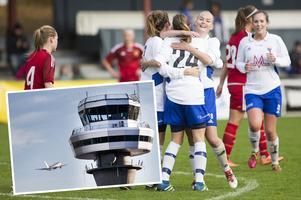 Till Opes damer vill Sporten ge ett privatflygplan för att laget enklare ska kunna ta sig till de långa bortaresorna i division 1 Norrland, med nio av tolv lag från Norr- och Västerbotten.