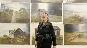 SPF Tuna-Säter har besökt Karlstad och konstnären Lars Lerins utställning på Sandgrund.