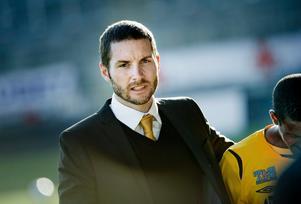 BK Forwards tränare Axel Kjäll.