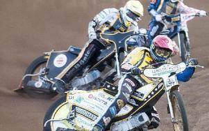 Daniel Jeleniewski vann heat 7 efter omstart. Foto: Mikael Forslund