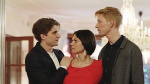 Med Maria Lundqvist och Robert Gustafsson i samma film är det upplagt för slapstick, men