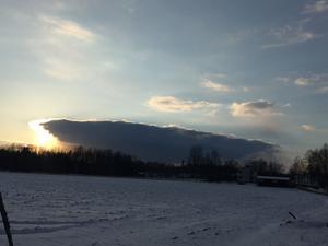 Detta är ett ovanligt moln. Men det hotar inte Sverige.