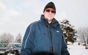 P-O Andersson är sträckchef för en av VM-tävlingens mest populära sträcka. FOTO:LEIF OLSSON