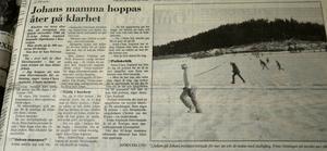 Den 10 mars 1993 var första gången Sundsvalls Tidning berättade om den då så kallade