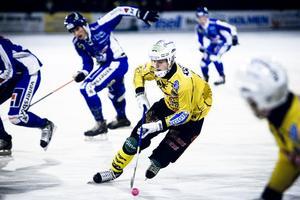 Adam Gilljam gjorde 1–0 för Broberg.