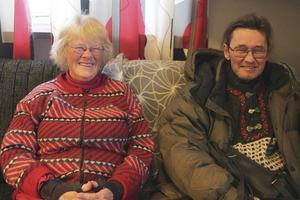 Dorte and Nills Suwala invite to international Christmas dinner on Christmas Eve at Församlingshemmet in Lillhärdal.