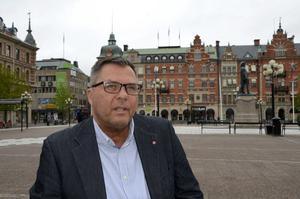 Näringslivsbolagets tidigare ordförande Anders Hedenius (S).