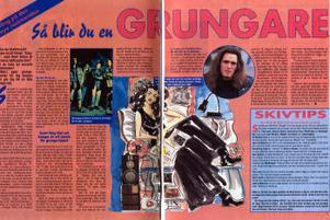 Till och med veckotidningarna hängde på när grungen blev populär i början på 90-talet. Reportaget