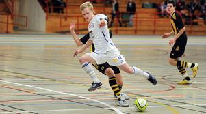 Magnus Wallgren sköt Söderhamns FF till SM-slutspel i futsal.