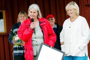 """""""Det känns jättekul att bli uppmärksammad"""", säger Marie Hansson som i går blev utsedd tiull Årets Margareta."""