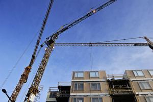 Bostadsbyggandet ökar i Västerås. I år väntas 1108 lägenheter bli klara.