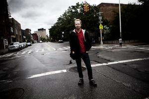 Gävlebon Henrik Ek bor i New York sedan fem år. Han har aldrig sett staden så öde som i helgen.