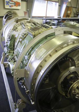 En motor på 46 000 newtonmeter gjorde det möjligt att få upp
