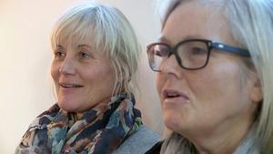 Två av företagets tre delägare - Marie Söderhielm och Eva-Lena Grape, minns glädjen över priset Årets Entreprenör.