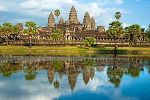 Angkor Wat hör till det du måste se någon gång i livet.