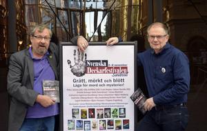 Tomas Melander och Håkan Nordman bjuder in till årets deckarfest.